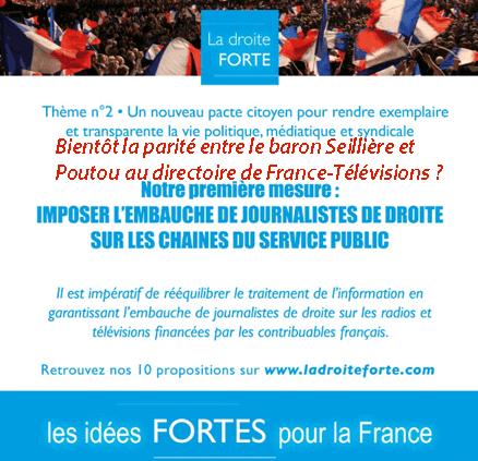 Droite forte : pour des journalistes du Front national ?