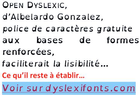 Open Dyslexic, suffisait-il d'y penser ?