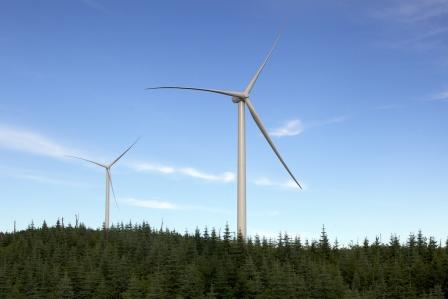 Québec : Un nouveau parc éolien mis en service