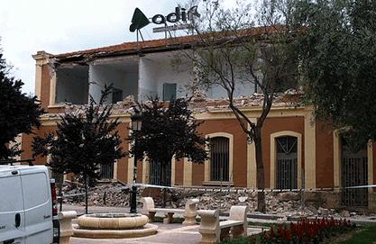 Le tremblement de terre de Lorca dû à l'irrigation intensive
