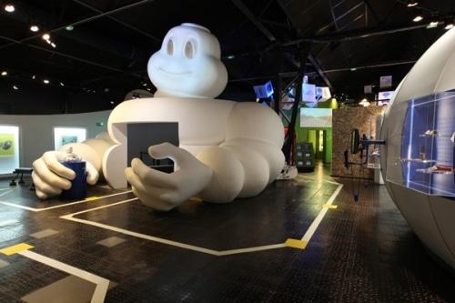 Plonger au coeur de l'Aventure Michelin ? Une idée clermontoise gonflée !