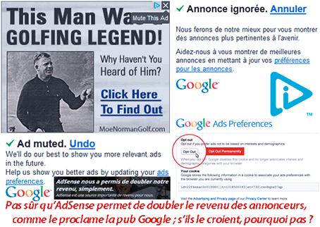 Publicités Google : toujours plus ciblées (et moins pourriélisées ?)