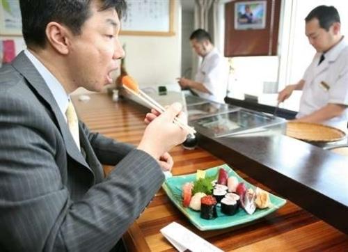 Les sushis peuvent vous causer des soucis