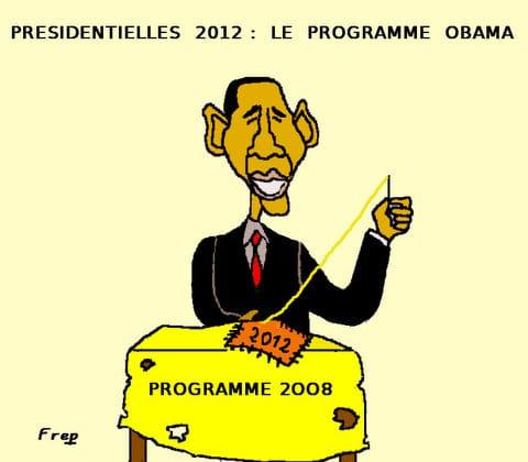Elections présidentielles  2012  :  le  programme  Obama . .