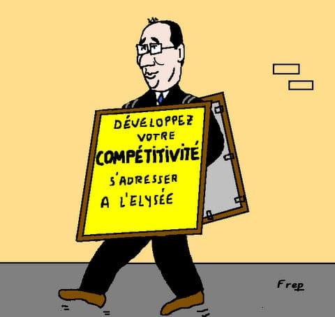 Hollande  :   après  la  conférence  de  presse  . .