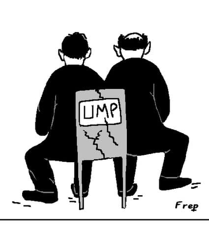UMP :  un  fauteuil  pour  deux  !