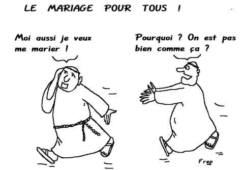 Le  mariage  pour  tous  !