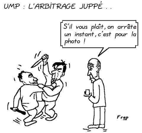 UMP : l'arbitrage Juppé  dans la guerre  Copé-Fillon . .