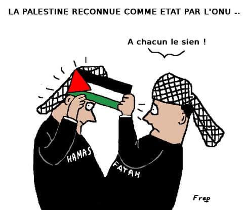Reconnaissance  de la Palestine par l'ONU : à chacun son état . .