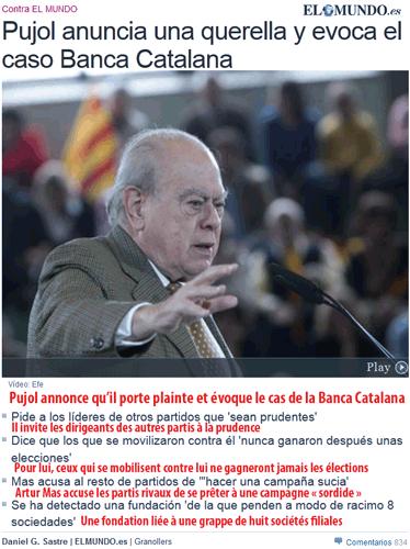 Catalogne : pas de champagne (mais du fiel) dans la campagne !
