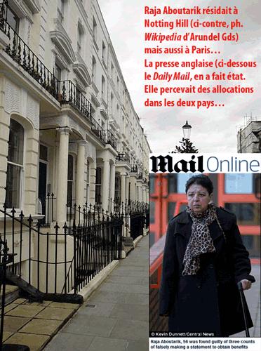 Fraude aux allocations : une Marocaine allocataire à Paris… et Londres !