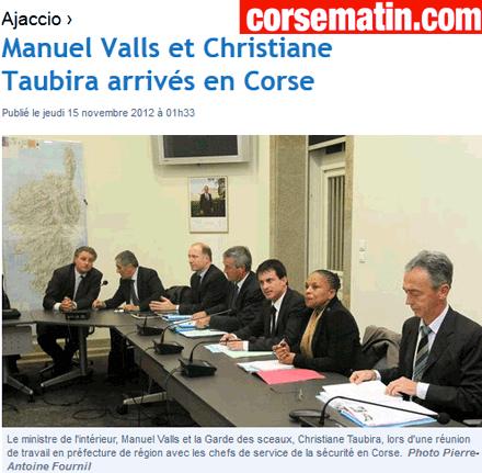 Corse : 17 homicides à l'année
