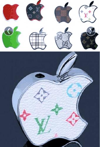 Des briquets Apple-Vuitton à cinq euros