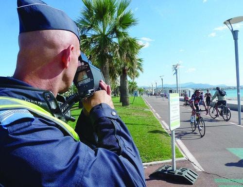 Cyclistes attention vous risquez d'être flashés !