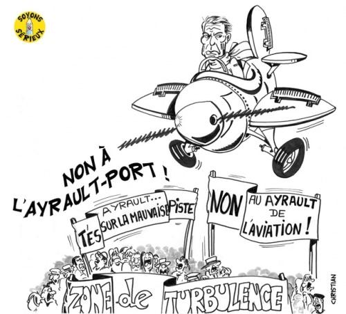 Aéroport Notre-Dame-des-Landes: Ayrault persiste et signe !