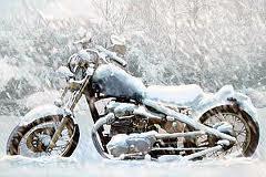 Votre moto n'aime pas l'hiver
