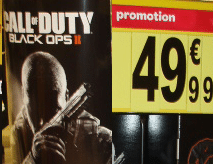 Vente événementielle Call of Duty Black Ops II : suspiscion de fraude à Carrefour