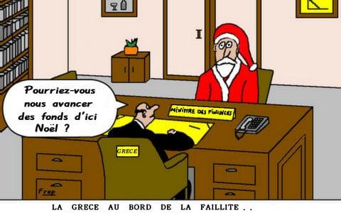 La  Grèce  toujours  au  bord  de  la  faillite . .