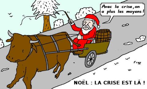 Noel  2012   :  la  crise  est là ! !