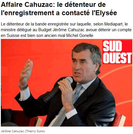 Mediapart contre Cahuzac : duel au dernier sang