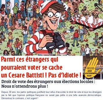 Battisti, Aurore Martin, Auvergnats : l'idiot utile persiste