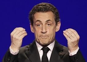 Nicolas Sarkozy donne un discours au forum Doha Goals