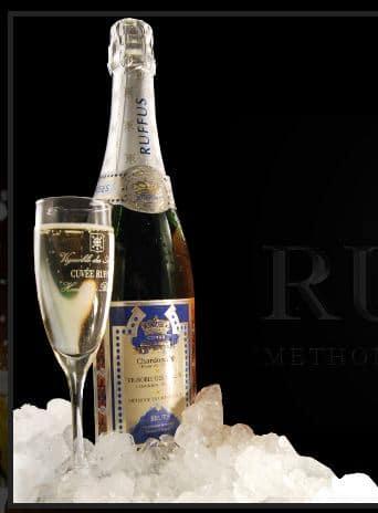 Ruffus, un étonnant vin effervescent belge.