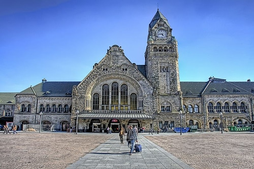 Braquage à la gare de Metz