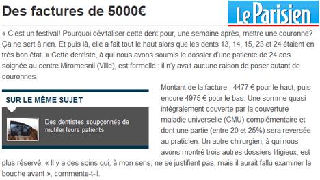 Mieux que Depardieu : des dentistes…