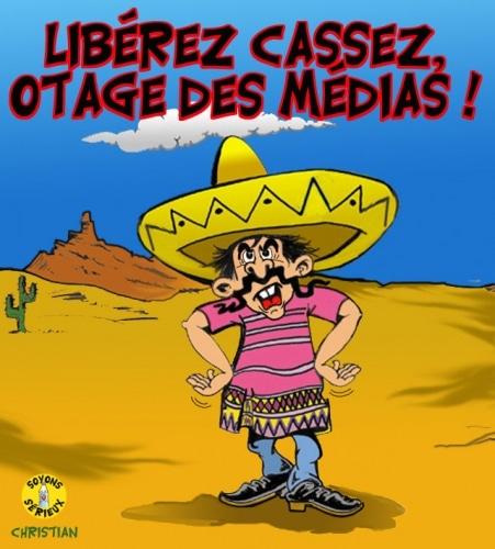 Libérée par les méxicains, ravie par les médias français !