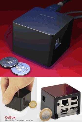CuBox Pro : l'unité centrale ultra-portable