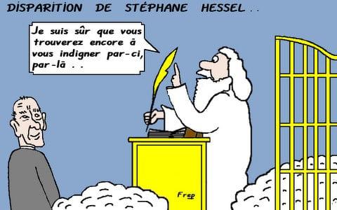 Disparition  de  Stéphane  Hessel . .