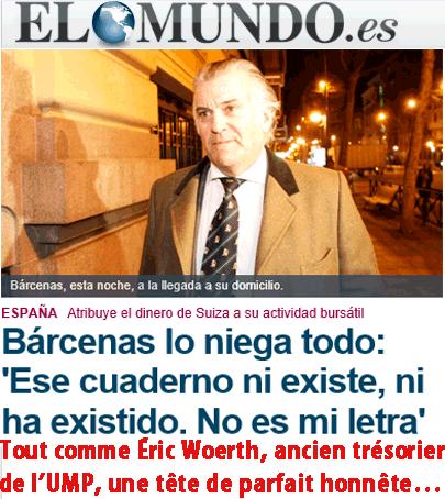 Corruption en Espagne : El Pais accusé de faux et usage de faux