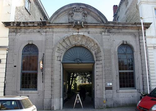 Le Groeningen Museum à Bruges.