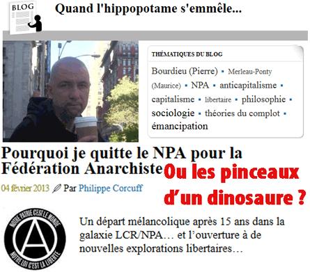 NPA, Front de gauche ou… fédération anarchiste ?