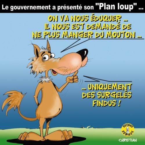 LE «PLAN LOUP» du gouvernement …