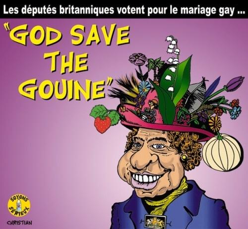 Les députés britanniques votent pour le mariage gay …