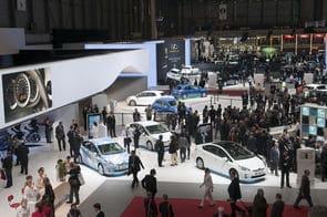 Ambiance de crise au Salon automobile de Genève.