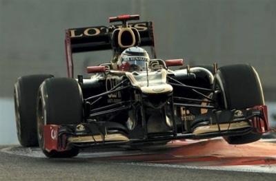 Kimi Räikkönen (Lotus) ouvre la saison de F1