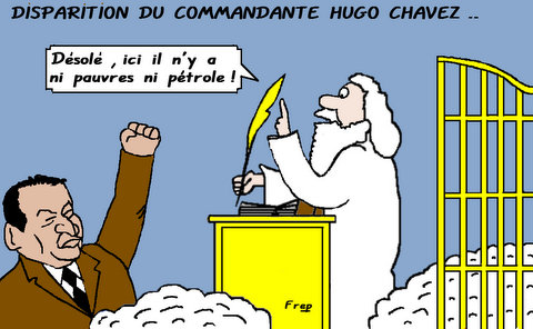 Disparition  du  commandante  Hugo  Chavez . .