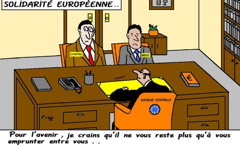Crise  bancaire  européenne ,  suite  . .