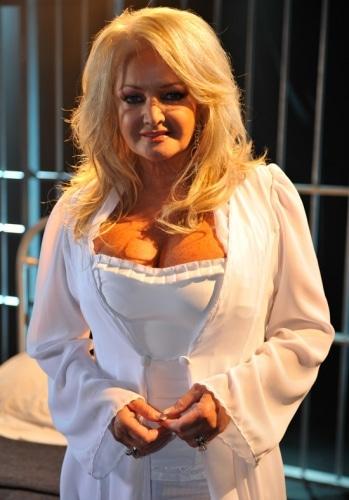 Bonnie Tyler, représentante du Royaume-Uni à l'Eurovision