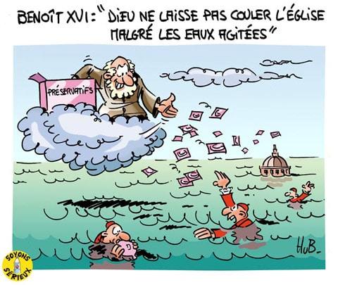 Le dernier message de Benoît XVI