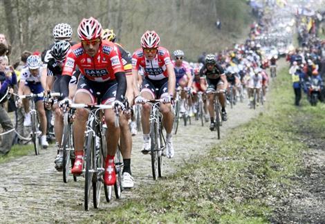 C'est demain à Compiègne le départ de Paris Roubaix.