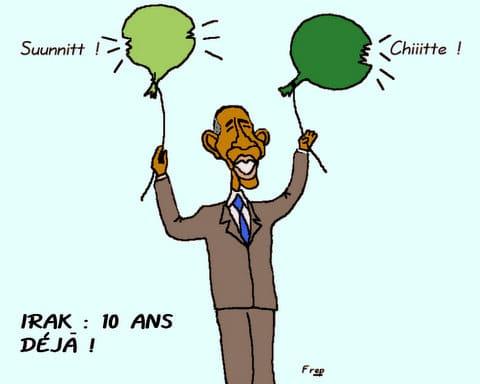 IRAK  :  10  ANS  DÉJÀ  !
