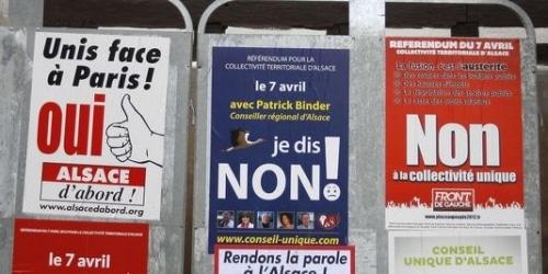 Paradoxe à la française 4   L'Alsace.
