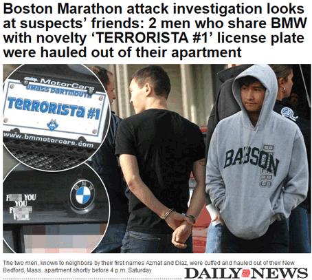 Boston : les deux frères tchétchènes appuyés par une cellule terroriste ?