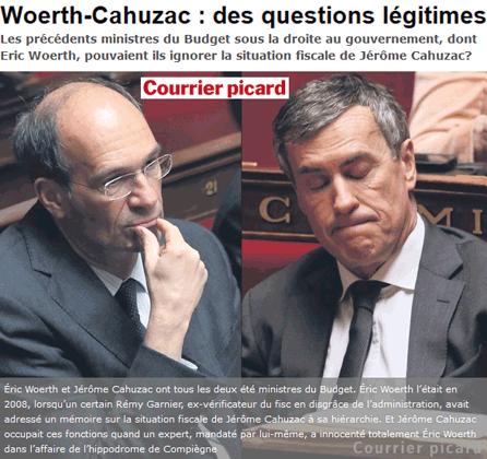 Affaire Cahuzac : qui savait en 2008 ?