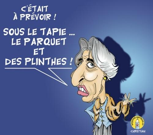 Affaire Tapie-Crédit Lyonnais : Lagarde convoquée en mai …