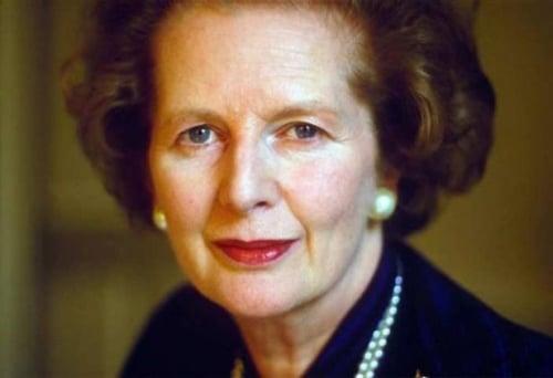 Margaret Thatcher s'est éteinte ce lundi…
